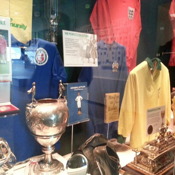 3/25/2013 tarihinde A.ziyaretçi tarafından National Football Museum'de çekilen fotoğraf