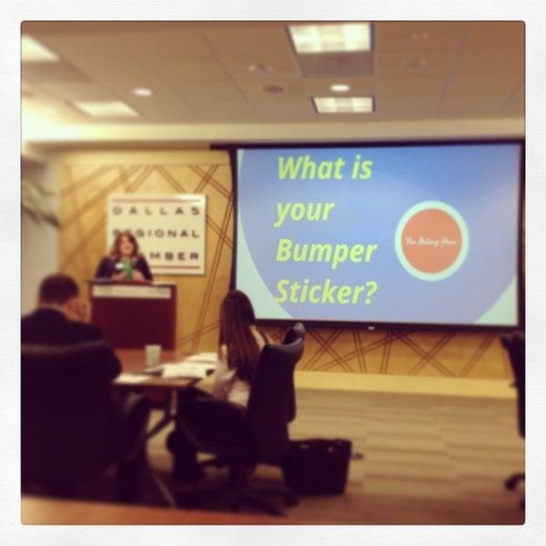 Снимок сделан в Dallas Regional Chamber пользователем Robert H. 12/5/2013