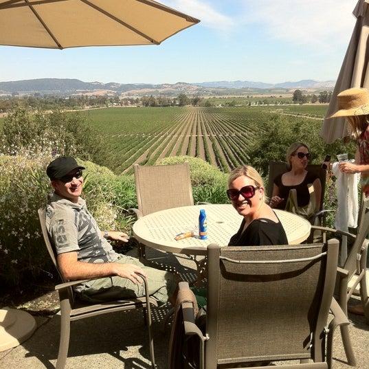Das Foto wurde bei Gloria Ferrer Caves & Vineyards von Liz W. am 9/16/2012 aufgenommen