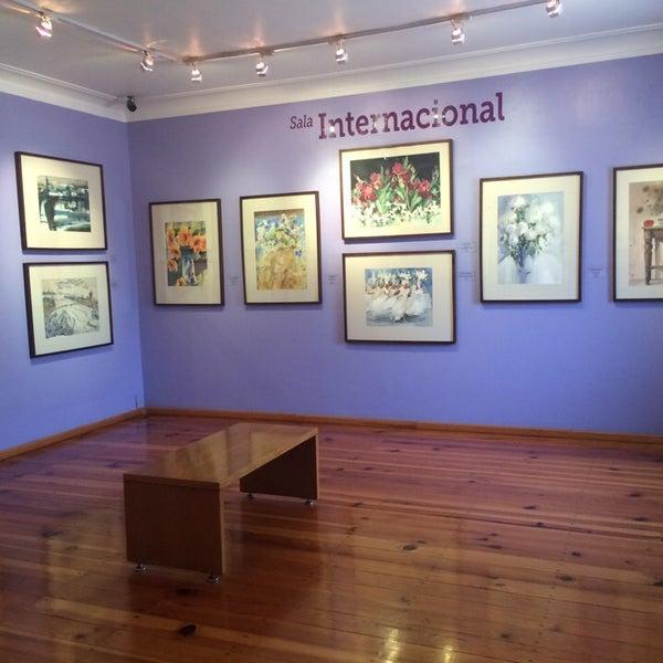 """รูปภาพถ่ายที่ Museo Nacional de la Acuarela """"Alfredo Guati Rojo"""" โดย Zhenia G. เมื่อ 8/26/2014"""
