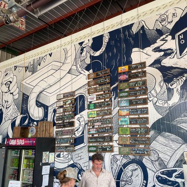 7/6/2021 tarihinde Brian T.ziyaretçi tarafından Oskar Blues Brewery'de çekilen fotoğraf