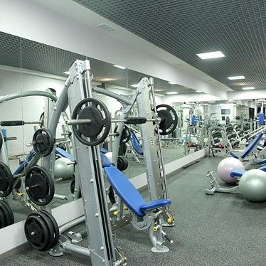 Снимок сделан в Pecherskiy Fitness Club пользователем Pecherskiy Fitness Club 2/7/2014