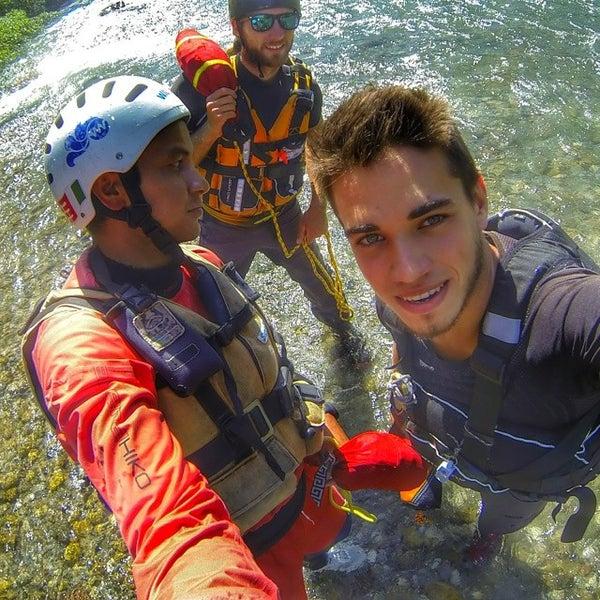 Foto scattata a Extreme Waves Rafting da Marcello D. il 7/4/2014