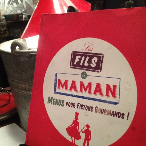 Foto diambil di Les Fils à Maman oleh Lenit E. pada 2/13/2014