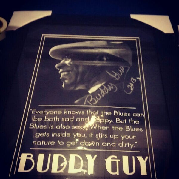 Foto tirada no(a) Buddy Guy's Legends por Clare B. em 1/28/2013
