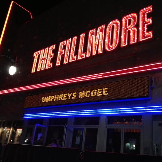 Photo prise au The Fillmore par Stephen P. le10/21/2012