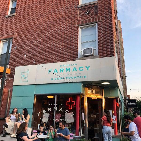 Photo taken at Brooklyn Farmacy & Soda Fountain by Delyar T. on 6/20/2021