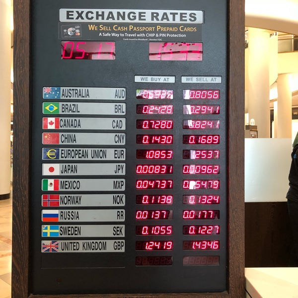 Currency Exchange In Soma