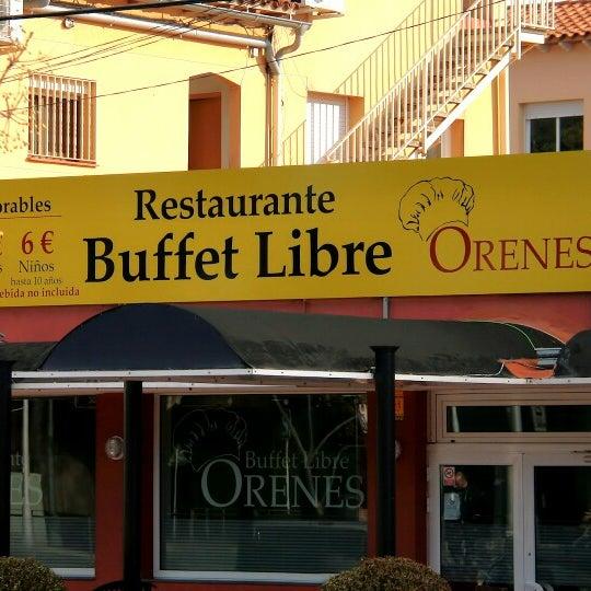 Buffet libre Orenes - Rambla de Marisol, 19
