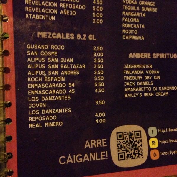 9/15/2014에 Morgan R.님이 AGÜEVO! Taquería Cantina에서 찍은 사진
