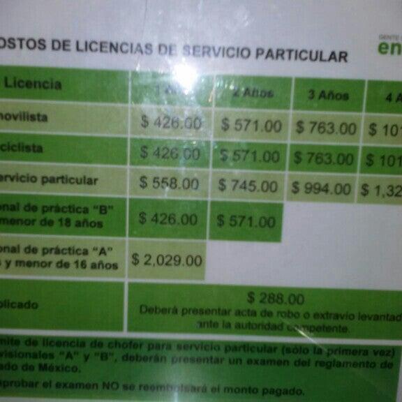 Módulo De Licencias Texcoco Edificio Gubernamental