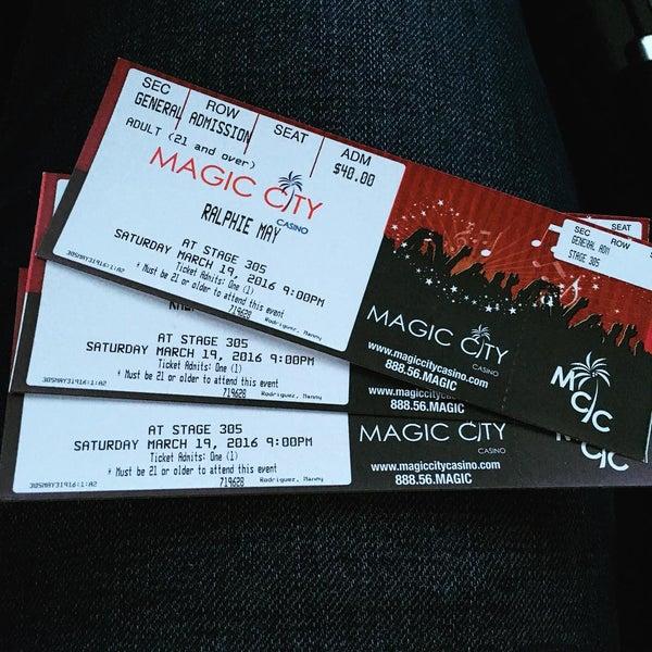 Foto tomada en Magic City Casino por Manny R. el 3/19/2016
