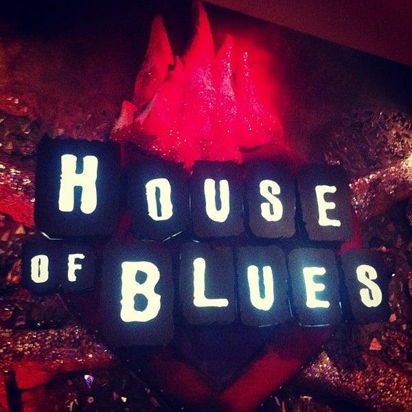 Снимок сделан в House of Blues пользователем Ernie A. 4/12/2013