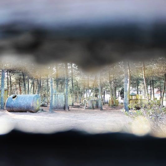 Das Foto wurde bei Natura Paintball von Natura Paintball am 2/5/2015 aufgenommen
