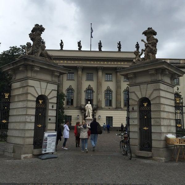7/28/2015에 Alev D.님이 Humboldt-Universität zu Berlin에서 찍은 사진