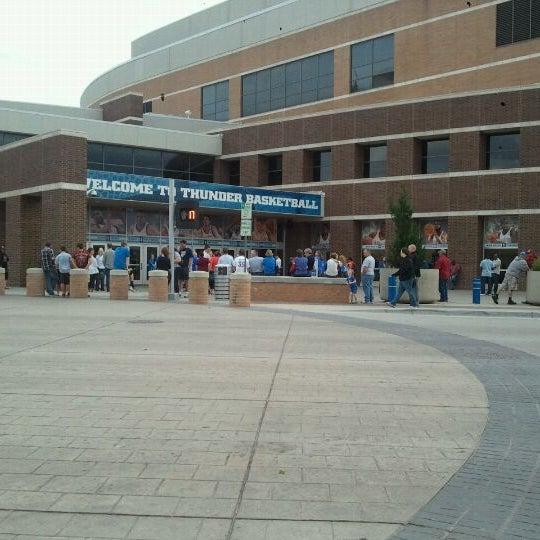 Das Foto wurde bei Chesapeake Energy Arena von Bryce T. am 3/18/2012 aufgenommen