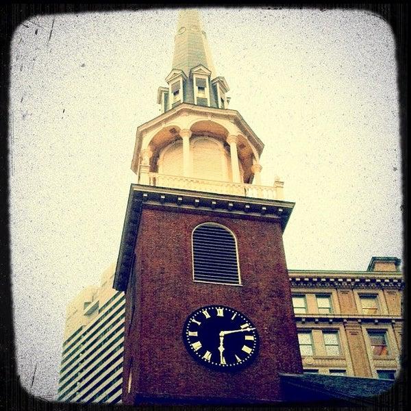 7/31/2012 tarihinde Leigh Ann S.ziyaretçi tarafından Old South Meeting House'de çekilen fotoğraf