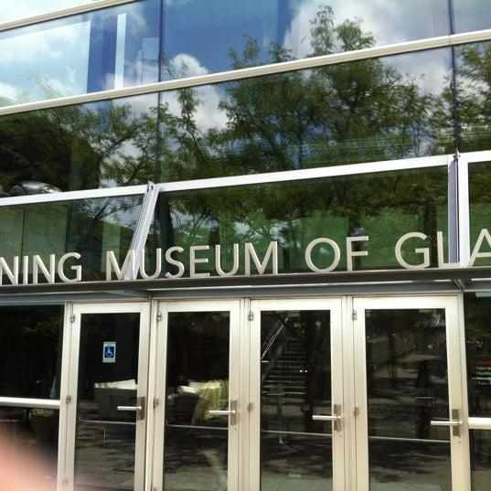 Photo prise au Corning Museum of Glass par JP M. le7/8/2012