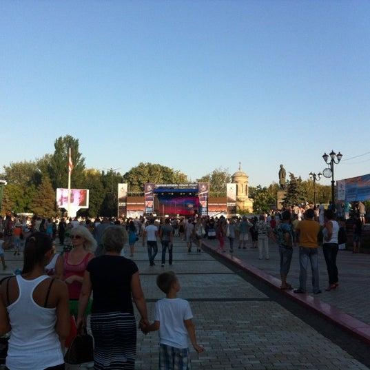 Снимок сделан в Площадь Ленина пользователем 🌸Katrin V. 7/22/2012