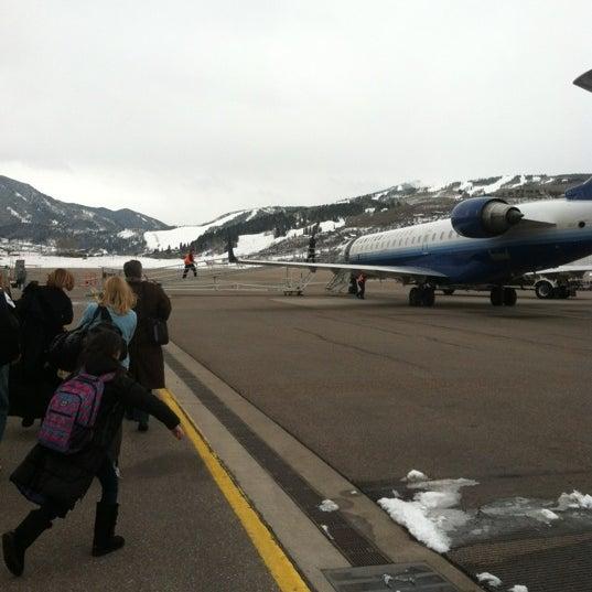 Photo prise au Aspen/Pitkin County Airport (ASE) par Ben S. le2/29/2012