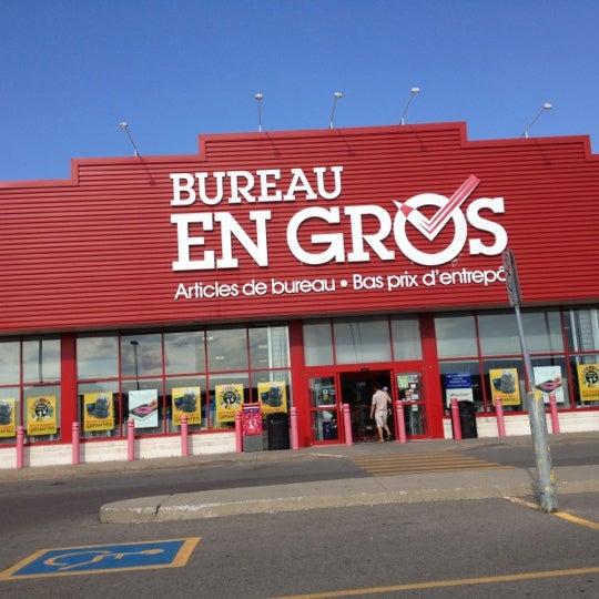 Bureau En Gros Paper Office Supplies Store In Laval