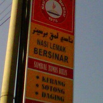 Nasi Lemak Bersinar - Kota Bharu, Kelantan