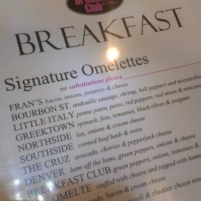 12/8/2012 tarihinde dj hammurabiziyaretçi tarafından The Breakfast Club & Grill'de çekilen fotoğraf