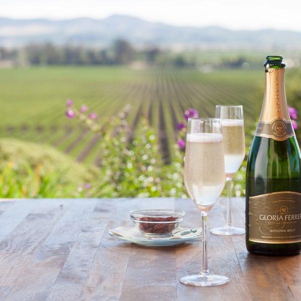 Das Foto wurde bei Gloria Ferrer Caves & Vineyards von Gloria Ferrer Caves & Vineyards am 3/20/2014 aufgenommen