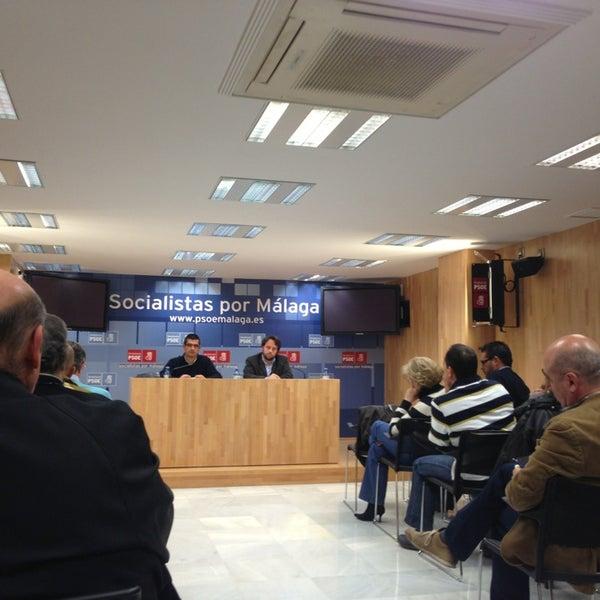 2/12/2013에 Regina C.님이 PSOE de Málaga에서 찍은 사진