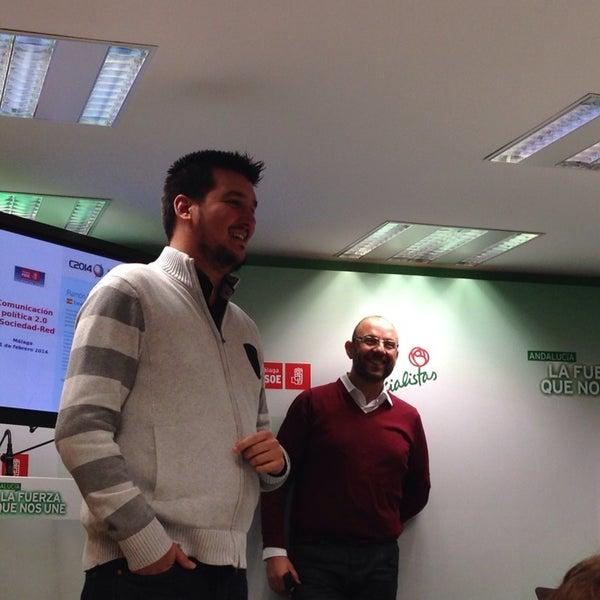 2/11/2014에 Regina C.님이 PSOE de Málaga에서 찍은 사진