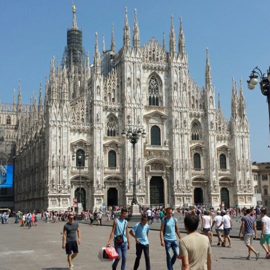 Photo prise au Dôme de Milan par Eugen le7/14/2013