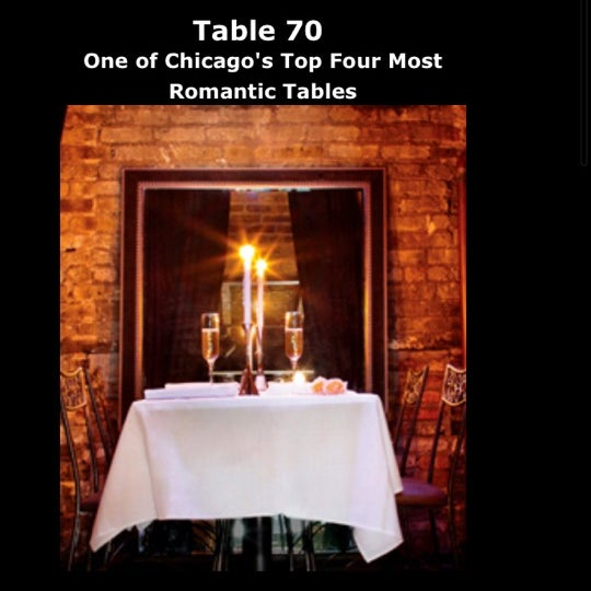 Book a reservation for Table 70!