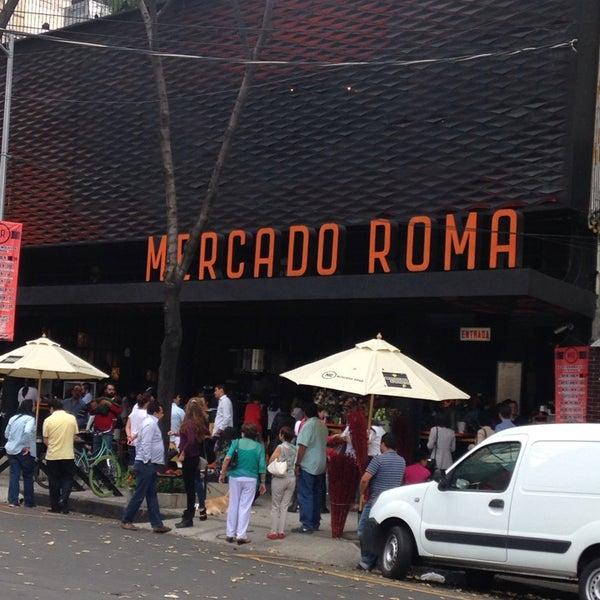 9/7/2014에 Feer J.님이 Mercado Roma에서 찍은 사진