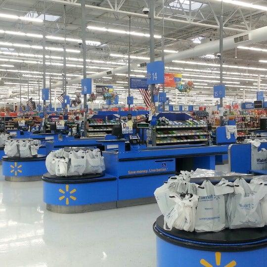 Photo Taken At Walmart Supercenter By Peter G M On 5 4 2013