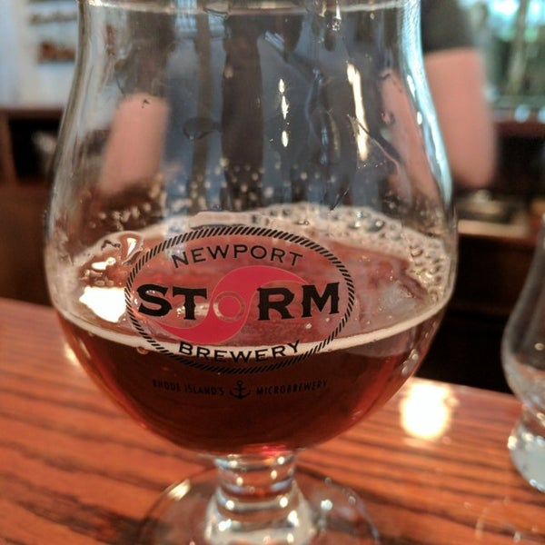 Das Foto wurde bei Newport Storm Brewery von Dan P. am 5/28/2017 aufgenommen