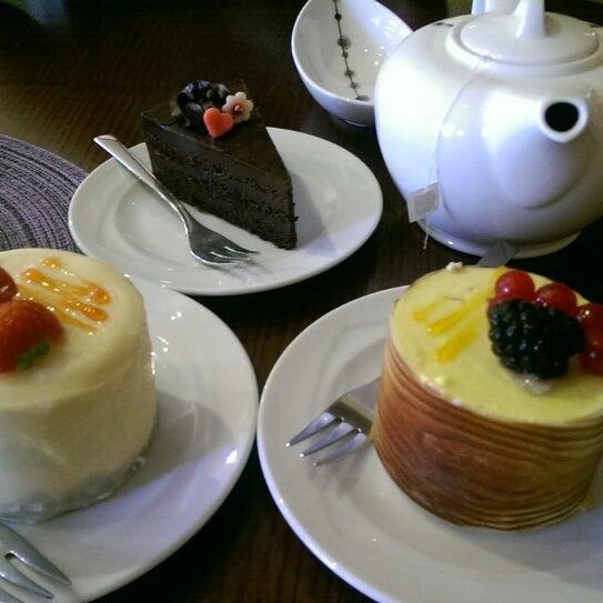Photo taken at Tea & Coffee garden by Diana O. on 7/2/2014