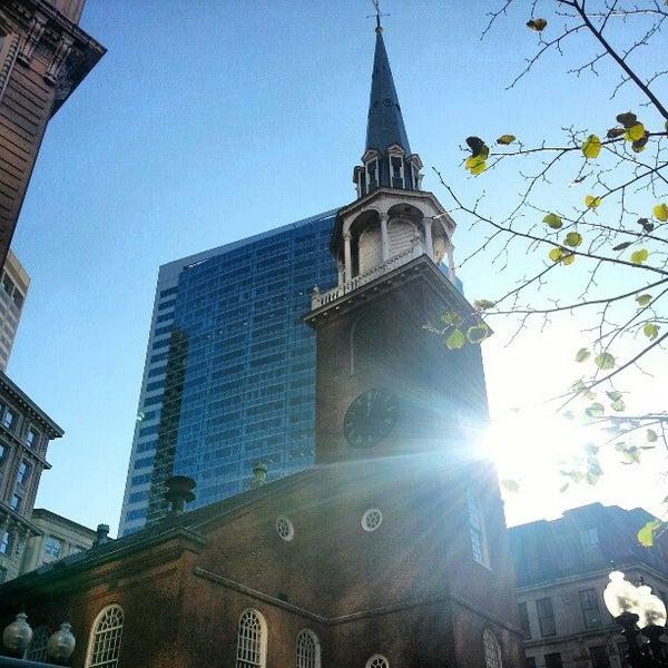 11/13/2012にGurjeet S.がOld South Meeting Houseで撮った写真