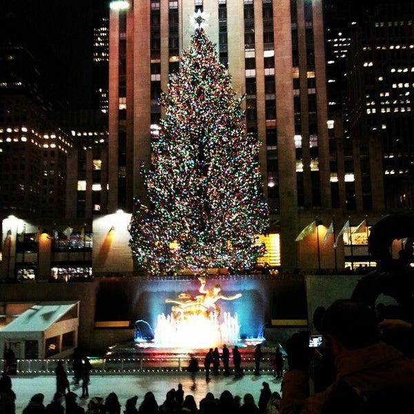 Rockefeller Center Christmas Tree 2013: Rockefeller Center Christmas Tree