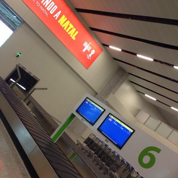 Снимок сделан в Aeroporto Internacional de Natal / São Gonçalo do Amarante (NAT) пользователем Naoko M. 6/19/2014
