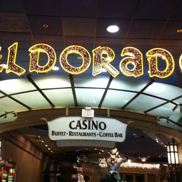 Снимок сделан в Eldorado Resort Casino пользователем Chelsea B. 8/30/2013