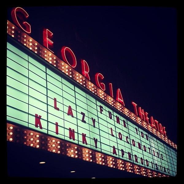 Das Foto wurde bei Georgia Theatre von Cristina P. am 6/29/2013 aufgenommen