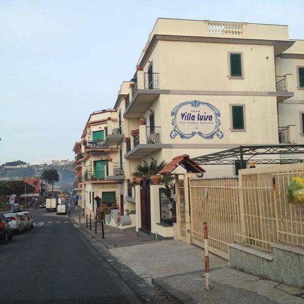 Das Foto wurde bei Hotel Villa Luisa von Procolo G. am 4/12/2014 aufgenommen