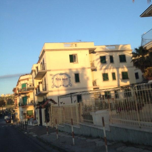 Das Foto wurde bei Hotel Villa Luisa von Procolo G. am 4/24/2014 aufgenommen