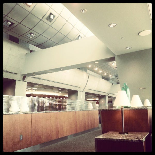 American Airlines Admirals Club Airport Lounge In