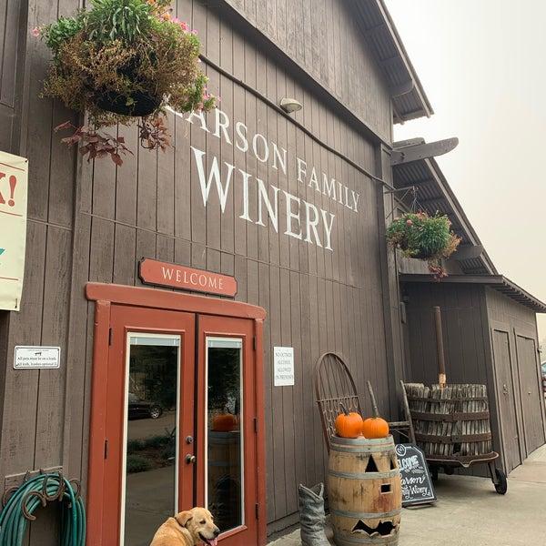 Das Foto wurde bei Larson Family Winery von Shinal am 10/2/2020 aufgenommen