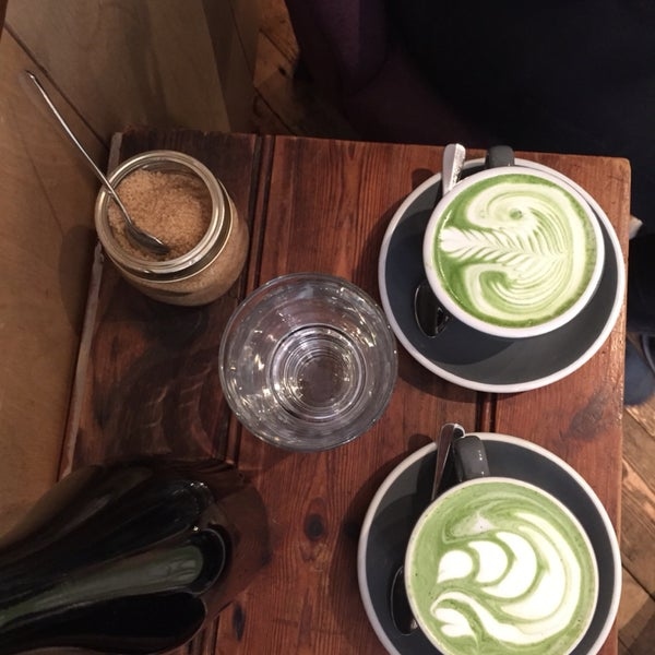 Matcha latte all the way ❤️