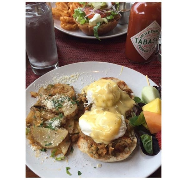Great brunch! They put vodka in their mimosas!