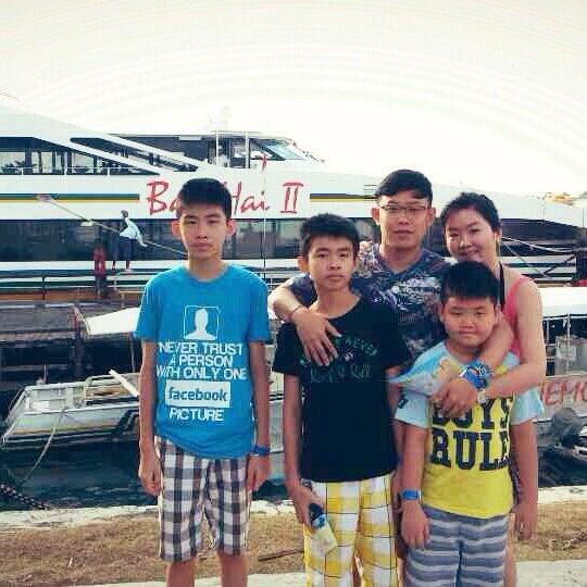 8/2/2014에 Valent M.님이 Bali Hai Cruises에서 찍은 사진