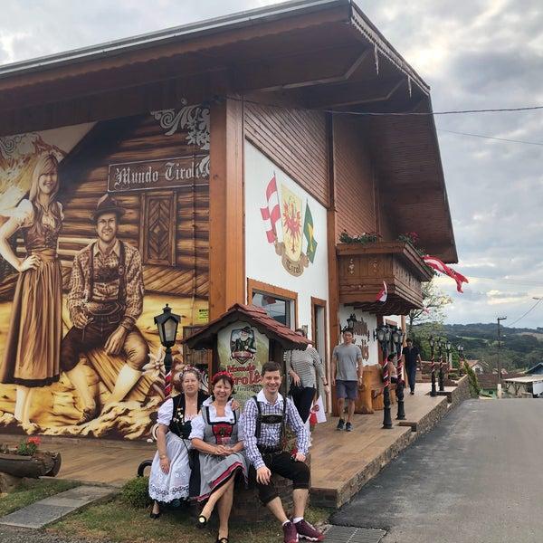 Mundo Tirolês - Treze Tílias, SC