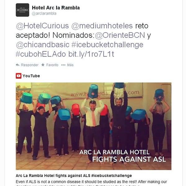 Foto diambil di Hotel Arc La Rambla oleh emarketing a. pada 9/26/2014